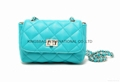High grade PU diamond quilted lady small