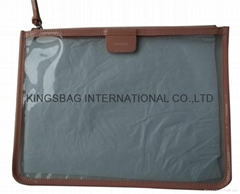Transparent PVC cosmetic gift bags,makeup gift bags