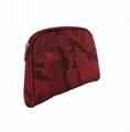 Fashionable camouflage nylon cosmetic bag sets China bag supplier do makeup bags
