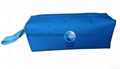 600D polyester promotion gift pencil pouch bags with short handle