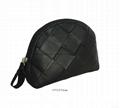 Matt PVC diamond pattern promotion beauty cosmetic bags