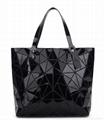 Faux leather designer women's fashion tote bags