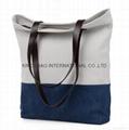 Canvas beauty ladies tote shopper bag