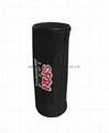Polyester cylinder pencil pouch bag with embroidery logo