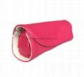 Imitation leather PU jewellry roll pouch bag