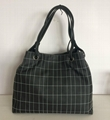 PU quilted fashion women tote handbag