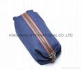 Men's makeup/cosmetic bags jeans made