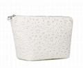 PU lace women's fashion beauty cosmetic bags makeup bags