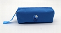 600D polyester pencil pouch with short wristle