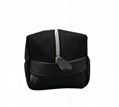 Men's canvas with PU toiletry bags makeup bags