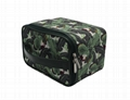 Plantain leaf polyester thermal cooler lunch bag