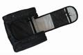1680D polyester black multifunction men high grade travel hanging toiletry bag  5