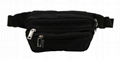 Latest unisex trend hip/waist bag polyester made in black colour