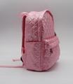 Nylon quilted lovely kids small pink school bag for kindergarten girls 2