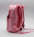 Nylon quilted lovely kids small pink school bag for kindergarten girls 3