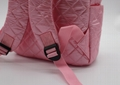 Nylon quilted lovely kids small pink school bag for kindergarten girls