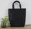 Top grade snake pattern PU beauty ladies tote bag in black colour