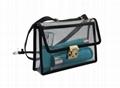 Beauty clear PVC ladies shoulder handbag