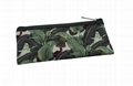 Laminated polyester small picnic pouch holds chopsticks,tablespoon