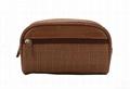 Hot sale! Beauty lady brown makeup bag