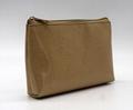 Glitter PU goldc beauty women cosmetic bag for travel  2