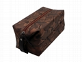 Nylon made high grade men waterproof makeup bag for travel in camouflage colour