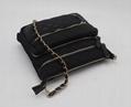 Nylon quilted fashion beauty women's multifunction shoulder bag w/ three straps 5