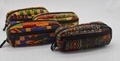 Designed ankara printed cotton stylish pencil pouch bag