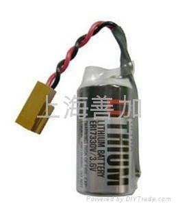 原装东芝锂电池ER17330V3.6V 1