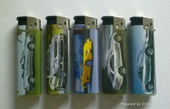 FH-808 refillable electronic lighter ,ISO9994,CR