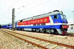 European railway double clearance tax to door special line