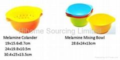 Melamine Mixing bowl/ Melamine Colander