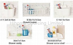 Shower basket, Shower caddy ,  Shower corner shelf