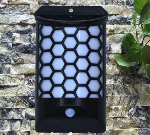IP65 Waterproof Body Induction Solar Garden Wall LFree switching of white light  1