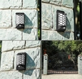 IP65 Waterproof Body Induction Solar Garden Wall LFree switching of white light  4
