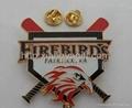Soft Enamel Baseball Lapel Pin Badge 1