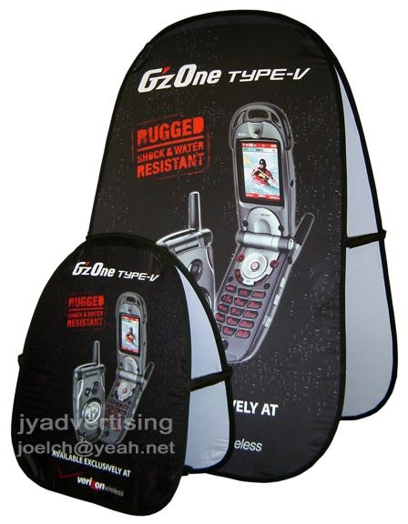 5pcs, Custom Print Spring A Frame Banner, Golf popup Banner (free shipping) 4