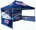 Folding Tent with Full Color Dye-Sublimation Printing, free shipping 3