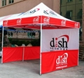 Folding Tent with Full Color Dye-Sublimation Printing, free shipping 2