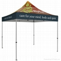 Custom POP up Tents with Print Logos,