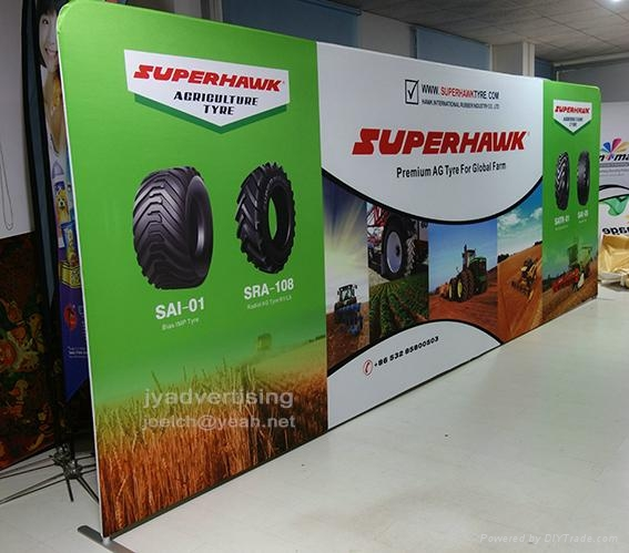 6M Tube Booth, 20ft Tube Display, Fast Show Exhbition Display (FREE SHIPPING) 1