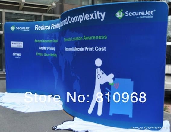 6M Tube Booth, 20ft Tube Display, Fast Show Exhbition Display (FREE SHIPPING) 3