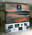 Stretch Fabric POP up Display Backdrop,