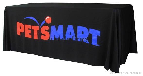 Full color print Economy Table Throw, Open Back Table Cover (free shipping) 2