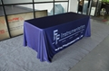 Full color print Economy Table Throw, Open Back Table Cover (free shipping) 1