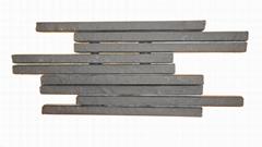 竹陶條形磚點膠膠粘劑