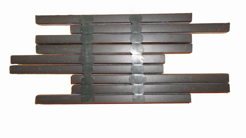竹陶条形砖点胶胶粘剂 2
