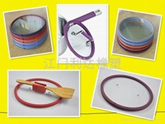 silicone glass lid for pot