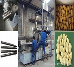 textured soya beans protein machine