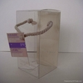 pet clear box for perfume